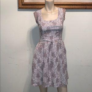 bar III front row light purple dress size XS
